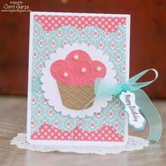 Happy Birthday Cupcake - Echo Park - Sweet Girl
