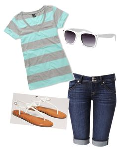 """Warm Summer Outfit"" by slee62899 ❤ liked on Polyvore"
