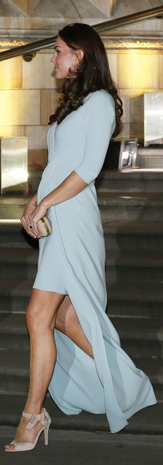 Kate Middleton Nails Sexy, Classy Pregnancy Chic - Redbook