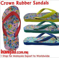 Visit- http://www.hanyaw.com.my/Products/Crown_Rubber_Sandals_CH-907.html
