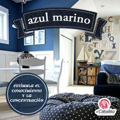 Ideas para decorar. Azul Marino.
