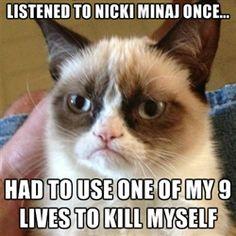 Grumpy Cat understands!!!