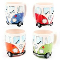 VW Camper van mugs