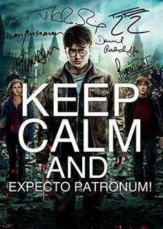 Harry Potter Keep Calm (11.7 X 8.3) Movie Print Daniel Radcliffe Rupert Grint Emma Watson JK Rowling Unique