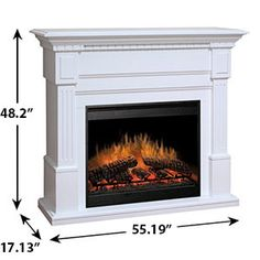 Stanford 72 Inch Wood Fireplace Mantel Shelf House