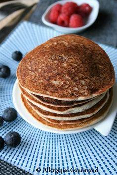 Pancakes coco { sans gluten, sans lait, sans œufs }