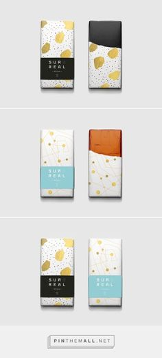 Branding, Graphic Design, Packaging for Surreal Ch. - Branding, Graphic Design, Packaging for Surreal Ch. Tea Packaging, Luxury Packaging, Food Packaging Design, Candy Packaging, Packaging Design Inspiration, Branding Ideas, Bottle Packaging, Black Packaging, Skincare Packaging