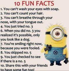 Internet is great source of fun and cool things, Minions are currently trending all over place, well we have some really funny biggest collection of Minions memes jokes laughing Funny Texts Jokes, Funny Minion Memes, Funny School Jokes, Some Funny Jokes, Crazy Funny Memes, Minions Quotes, Really Funny Memes, Funny Relatable Memes, Funny Facts