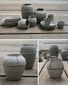 Pulp Projects: Recycled Paper Pots, Planks, Shelves & More