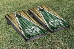 Colorado State Rams Reclaimed Wood w/ Triangle Bag Toss Game Set