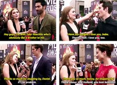 The love between best friends and cast mates, teen wolf cast