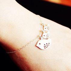 Bird Bracelet for New Baby - LoveItSoMuch.com