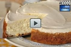 New York Style Cheesecakes are creamy, and smooth, and rich, and dense, and absolutely delicious. It has a graham cracker crust. From Joyofbaking.com With Demo Video