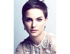 @Byrdie Beauty - Natalie Portman looked fabulous with a shaved head, but if you're not up for going bald, try her cropped pixie instead.