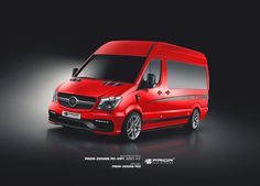 PD-VIP1 Aerodynamic-Kit for Mercedes Sprinter II [2006+] | PRIOR-DESIGN Exclusive Tuning