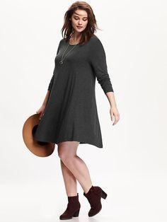 Plus Size Swing Dress