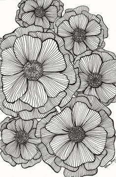 Doodle art 56295064077700150 - JPG file that can be used to create greeting cards, gift tags, tissue paper for decoupage, and whatever else you can imagine. Makes a great background for other designs. Source by bOnObOboo Zentangle Drawings, Zentangle Patterns, Ink Drawings, Patterns To Draw, Mandala Drawing, Doodle Patterns, Zentangle Art Ideas, Flower Patterns, Doodles Zentangles