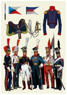 8 Uhlan(lanciers)Regiment-1807-1814.Pułk 8 ułanów Księstwa Warszawskiego
