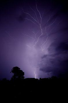 Naturfotografie: Gewitter mit Blitz