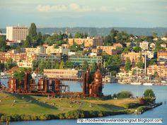 Gas Light Park on Lake Union, Seattle, WA. Picnics on the lake...