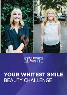 Get your smile ready for the holidays with our 2 Weeks to Your Whitest Smile challenge Check out ww Get your smile ready for the holidays with our 2 Weeks to Your Whitest Smile challenge Check out ww Crest nbsp hellip before and after women mom Teeth Whitening Remedies, Teeth Whitening System, Crest 3d White, Coffee And Cigarettes, Smile Makeover, Stained Teeth, White Smile, Beautiful Smile