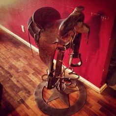 Saddle bar stool I made