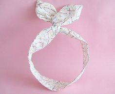 Dolly Bow Headwrap-Hair Pins by JooSweetie on Etsy (Accessories, Hair Accessories, Headbands, dolly bow, head wrap, wire headband, bunny ear headband)