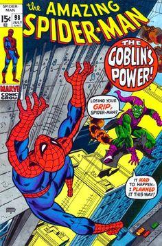 The Amazing Spider-man Marvel Comic books cover Peter Parker web green goblin Marvel Comics, Comics Spiderman, Marvel Dc, Marvel Comic Books, Comic Books Art, Book Art, Wolverine Comics, Captain Marvel, Amazing Spiderman
