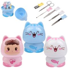 [$3.30] 6 in 1 Cute Cartoon Style Beauty Set (Random Delivery)