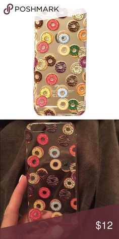 CUTE IPHONE 6 6s Pastry Doughnuts Case Cover Fits iPhone 6 and 6s... No other size cases available in this pattern.   100% Brand New high quality Case Cover  PLASTIC Case Cover specifically designed to shelter your Phone dust,shock, scratches and bumps and other daily.  Allows easy access to all buttons, controls and ports.  Easy to install, easy to remove..... PRICE FIRM!! Accessories Phone Cases