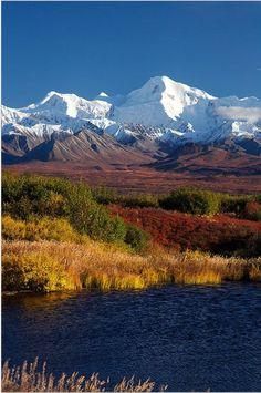 autumn, Denali National Park, Alaska | Ed Boudreau, Fine Art America*