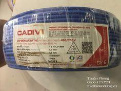 Dây điện Cadivi 6.0 giá bao nhiêu Phan, Cable, Cabo, Electrical Cable, Cords