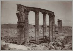 Metropolitan Museum of Art. Department of Islamic Art. Ernst Herzfeld Papers. #portico #palmyra #syria #photography Palmyra Syria, Digital Archives, Islamic Art, Metropolitan Museum, All Over The World, Mount Rushmore, Mountains, History, Architecture