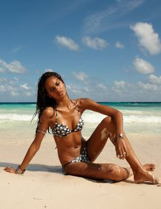 Hot & Rock - Grace Carvalho - Calzedonia summer 2012 collection