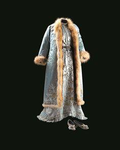 Bridal outfit (entari, long jacket and shoes); Ottoman Empire, late 19th century; Sadberk Hanim Museum, Istanbul