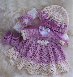 Kız Çocuğu Tığ İşi Örgü Elbise Modelleri   Harika Hobi SitesiHarika Hobi Sitesi
