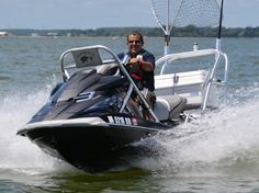 Jet Ski Fishing & Adventures The Effective Pictures We Offer You A Jet Ski Fishing, Fishing Boats, Boating Holidays, Offshore Fishing, Float Your Boat, Cool Boats, Fishing Adventure, Boat Stuff, Fishing Accessories