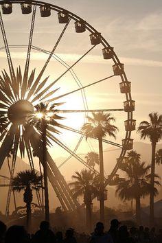 Coachella Concert / Festival Travel Photograph