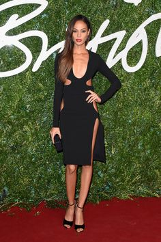 Joan Smalls Photos Photos - Model Joan Smalls attends the after party for the annual Victoria's Secret fashion show at Earls Court on December 2, 2014 in London, England. - Arrivals at the Victoria's Secret Fashion Show Afterparty