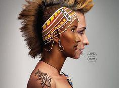 Pub Xolo Mobiles X900 : Body Painting au Double Visage