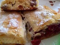 Fenséges rétes húzogatás nélkül - ez neked is sikerül | Balkonada Hungarian Recipes, Strudel, Winter Food, Tray Bakes, Food To Make, Cheesecake, Food And Drink, Pie, Fudge
