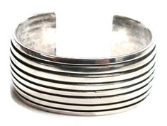Andy Cadman –Beautiful Silver Cuff –Perry Null Trading Co.