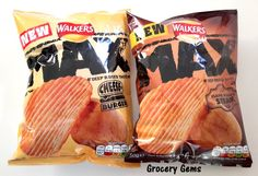 Grocery Gems: Review: Walkers Max Cheeseburger Flavour Crisps