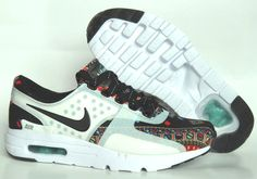 How To Buy 2018 Womens Nike x Liberty 2015 GS Nike Air Max Zero Multi Color