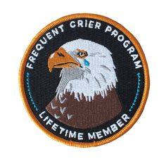 Frequent Crier patch by Stay Home Club