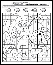my free preschool math worksheets will help teach counting numbers and problem solving in - Creative Coloring Sheets