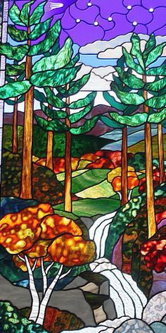 may-17th-471.jpg (329×658) ~ beautiful stained glass landscape!!