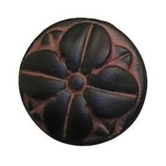 Anne At Home Pompeii Black With Terra Cotta Wash Round Cabinet Knob 12 Kitchen Handles, Pompeii, Cabinet Knobs, Terracotta, House Design, Lowes, Appliances, Black, Products