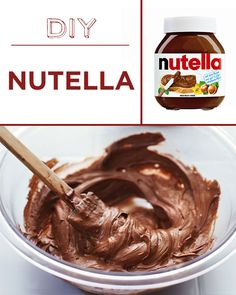 Skip the not-so-awesome palm oil in Nutella by making your own. | 30 Foods You'll Never Have To Buy Again