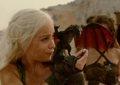 A still of Mother of Dragons from Game of Thrones